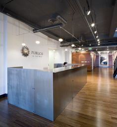 Olson Kundig Architects - Projects - Publicis - Seattle Lobby and Reception Remodel