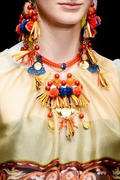 Dolce & Gabbana Spring 2013 RTW Collection