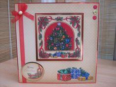 Handmade Christmas Card - Christmas Tree   Kibbs Cards MISI Handmade Shop