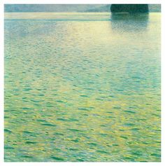 GUSTAV KLIMT (1862-1918) Isle on Lake Attersee, 1902 (oil on canvas)