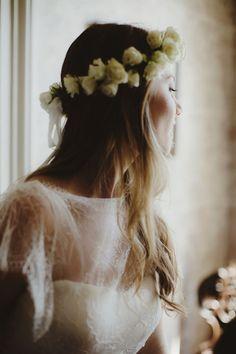 flowers in her hair //