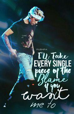 Justin Bieber Sorry - Lyric Edit By Pushpa ♡