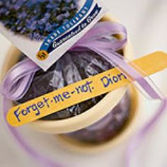 Great idea!  I'll put a packet of forget me not seeds in the last day of school card!