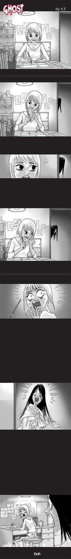 Silent Horror chap 110: Ai là bóng ma?