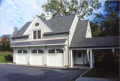 A garage addition