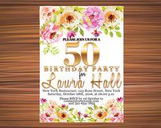 BOHO BDAY INVITATION Bohemian Bday Invitation by UniqueGoldenCards Rose Street, York Restaurants, Birthday Invitations, Rsvp, Bohemian, Party, Fiesta Party, Boho, Receptions