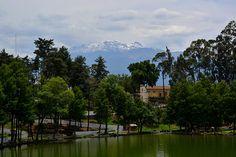 Vista del majestuoso volcán Iztaccíhuatl desde la Ex Hacienda de Chautla, Sn. Martín Texmelucan, Puebla. | Flickr: Intercambio de fotos