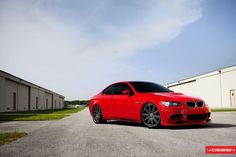 BMW M3 Red Hott!