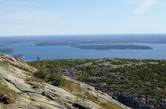Acadia National Park and Cadillac Mountain, Maine The view was spectacular