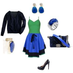 outfit, created by kelly10alison on Polyvore