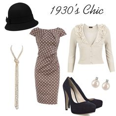 """1930's Chic"" by thesingingdiplomat on Polyvore"