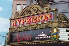 Aladdin the Musical at the Hyperion Theater in California Adventure Park