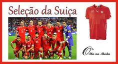 Uniforme da Seleção do Grupo E - Copa 2014...Brasil ...@olho_moda