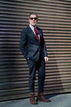 Nick Wooster being his bad ass self as usual #menswear