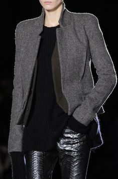 Haider Ackermann at Paris Fall 2014 (Details)