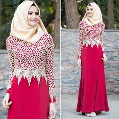 EVENING DRESS - EVENING DRESS - 2165BR #hijab #naylavip #hijabi #hijabfashion #hijabstyle #hijabpress #muslimabaya #islamiccoat #scarf #fashion #turkishdress #clothing #eveningdresses #dailydresses #tunic #vest #skirt #hijabtrends