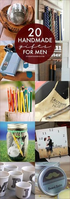 Manly do it yourself boyfriend and husband gift ideas masculine handmade gifts gift tutorials for men so many great ideas solutioingenieria Choice Image
