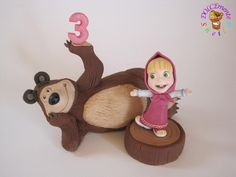 Masha and the Bear - Cake by Sheila Laura Gallon