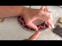 Collar con imperdibles (Statement necklace safety pin) - YouTube
