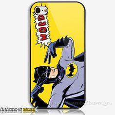 Batman Super Hero Custom iPhone 5 Hard Case Cover