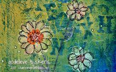 StampingMathilda: Art Journal - Flowers Speak