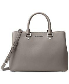 3206a606bfc434 Michael Kors Savannah Large Satchel & Reviews - Handbags & Accessories -  Macy's
