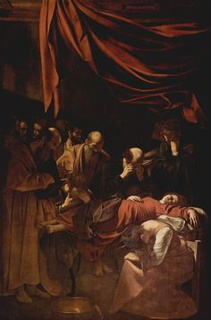 "Caravaggio ""The Death of the Virgin"""