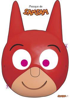 Masque de SamSam à fabriquer