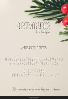 Free Christmas Decor Hand Drawn Typeface is perfect for bringing a personalised hand lettered feel to your Christmas Decoration & branding projects. Hand Drawn Fonts, Hand Lettering, Cute Fonts, Brand Fonts, Wedding Fonts, Handwriting Fonts, Premium Fonts, How To Draw Hands, Finding Yourself