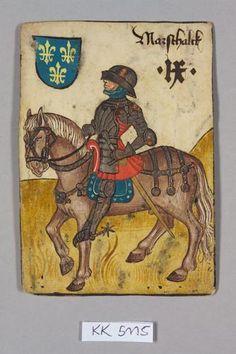 """Title   Marschalk, Frankreich aus dem """"Hofämterspiel"""" für König Ladislaus """"Postumus"""" (?)  Marschalk, Frankreich aus dem """"Hofämterspiel"""" für König Ladislaus """"Postumus"""" (?)"""