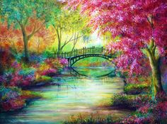 Dreams of Elysium ... great colors on all photos... I'd love to have a garden like this... like my secret garden