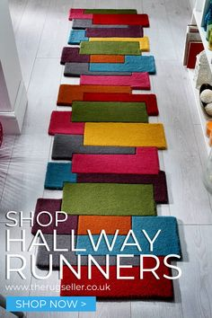 View our Huge Choice of Hall Runners for Sale Online with Free UK Delivery. We have a huge choice of styles to help you find the best hallway runners and rugs for your home.