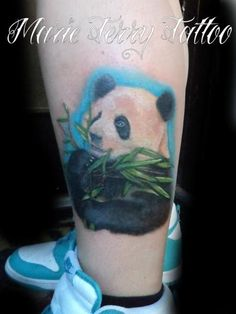 Cute panda tattoo!