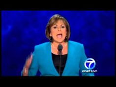 Gov. Susana Martinez  she was awesome speaker at the GOP convention.