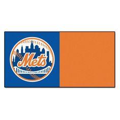 Fanmats MLB 18 x 18 in. Carpet Tiles - 8