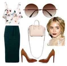 """""""Csc"""" by nymstyle0 on Polyvore featuring New Look, Gianvito Rossi, Givenchy, N°21 and Olsen"""