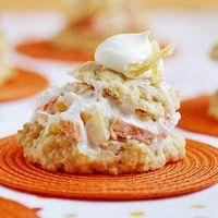 Gingered Shortcake Bites