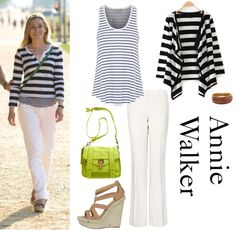 Annie Walker Ballgame - Fashion From Covert Affairs - All Yours Styling