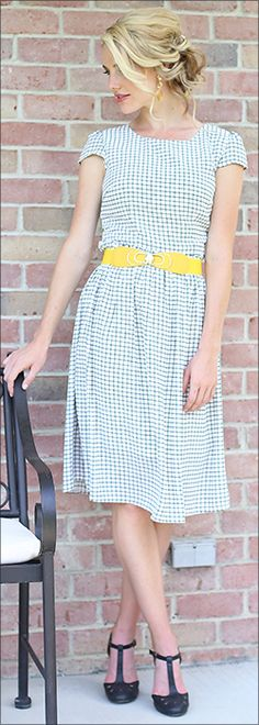 Lauren Dress [MDS1002] - $49.99 : Mikarose Boutique, Reinventing Modesty