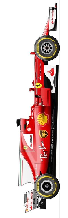 2017/6/25:Twitter:@Stylepixstudios:Getting there with the @ScuderiaFerrari SF70H. Still more developments to go but we're almost at the fine tuning stage! #F1 #Ferrari #BakuGP