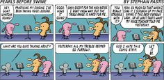 Pearls Before Swine Comic Strip, September 07, 2014 on GoComics.com