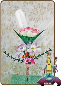 Josephine Boteille The essence of inner wisdom and beauty Personalized Treasure Scrolls | Treasure Viewing Room  #floralarrangements #gifts