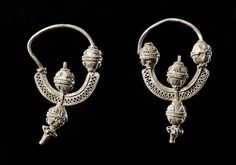 Viking age / Earrings Baltic