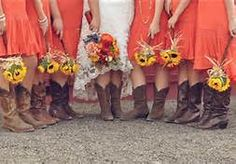 country wedding dress with cowgirl boots - Bing Images