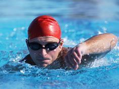 6 Ways to Swim Faster- good tips to remember, they're correcting mistakes you often make without thinking about it. From active.com