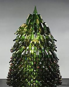 Tree bottles! Imagine this lit from inside?