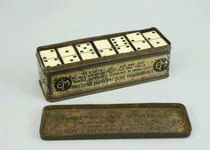 Vintage Domino Game set