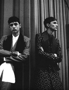 Christian Garcia@ Bananas & Nahuel Seranno Photographed by Fanny Latour Lambert and Styled by Mauricio Nardi for Dust Magazine