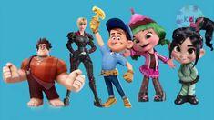 wreck it ralph finger family | 3d cartoon rhymes for children | finger f...