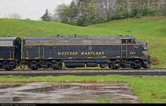 RailPictures.Net Photo: WM 243 West Virginia Central Railroad EMD FP7 at Linan, West Virginia by Jeff Terry